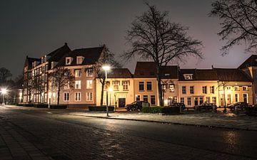De Kaai in Bergen op Zoom, Noord Brabant, Nederland van Lars Mol
