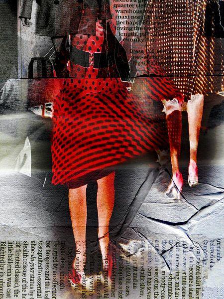 The red skirt van Gabi Hampe