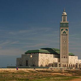 La Grande Mosquée Hassan II sur Jeroen van Gent