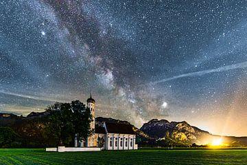 Melkweg bij Schwangau van Dennis Eckert