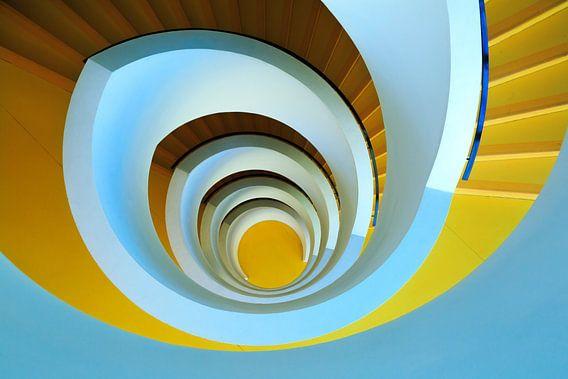 Spiral II van Sander van der Werf