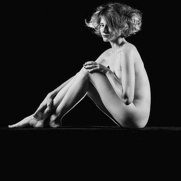Sehr schöne nackte Frau in sitzender Pose #9795 von william langeveld