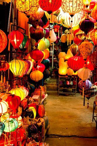 Lanterns in Hoi An, Vietnam von Gijs de Kruijf