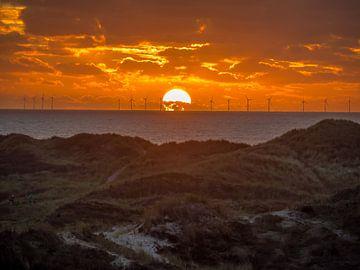 zonsondergang van Martijn Tilroe