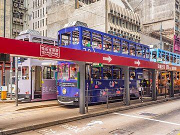 Hongkong tram van Stijn Cleynhens