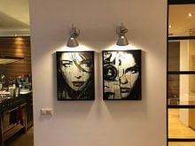 Photo de nos clients: EVERYBODY HAS sur LOUI JOVER, sur toile