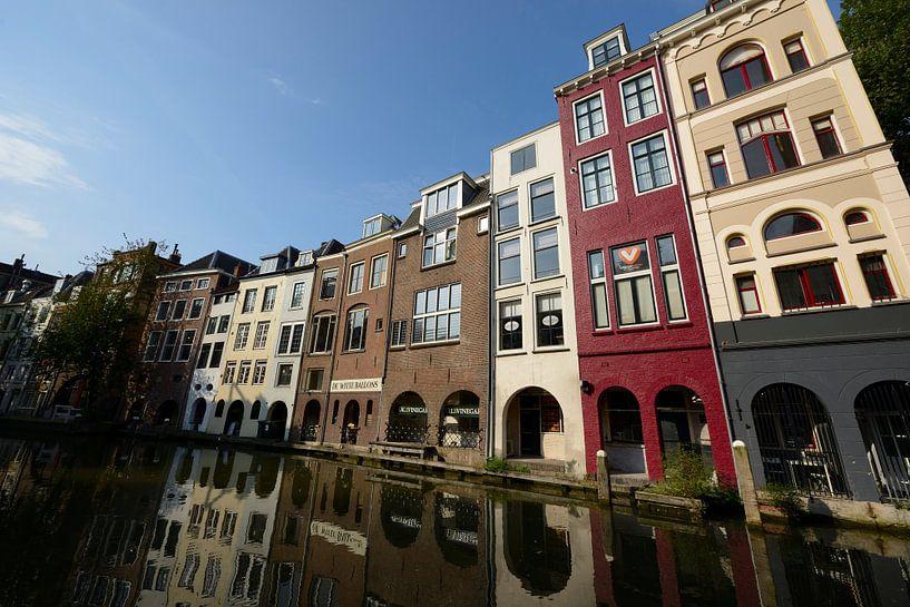 Oudegracht ter hoogte van Lijnmarkt van In Utrecht