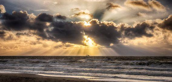 Najaars Storm 002 van Alex Hiemstra