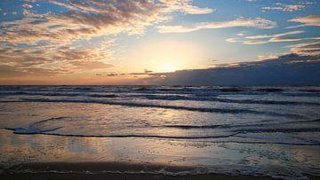 Sonnenuntergang Texel von Sran Vld Fotografie