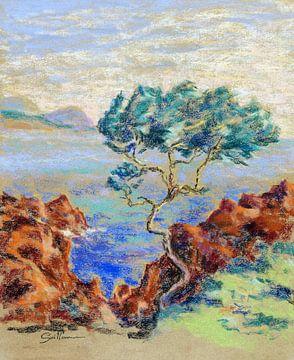 Le Trayas, Landschaft des Südens, JEAN-BAPTISTE ARMAND GUILLAUMIN, um 1914