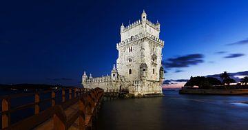 Torre Belem in der blauen Stunde