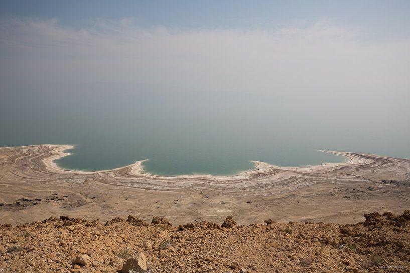 Dode zee in Israel van Joost Adriaanse