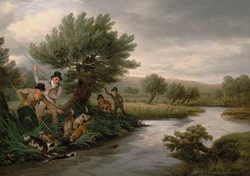 Philip Reinagle~Angesichts des Fischotters