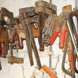 Oud gereedschap van Jetty Boterhoek