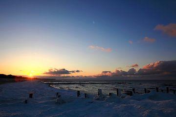 Im Winter an der Ostsee von Thomas Jäger