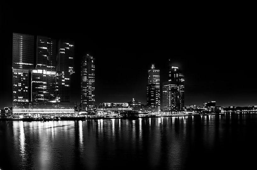 Rotterdam Skyline van Robert Stienstra