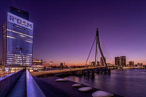 Erasmusbrug - KPN Gebouw - Rotterdam