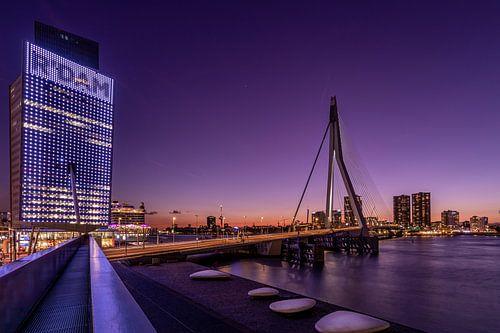 Erasmusbrug - KPN Gebouw - Rotterdam van