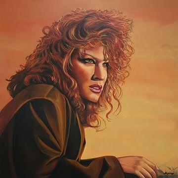 Bette Midler schilderij van Paul Meijering