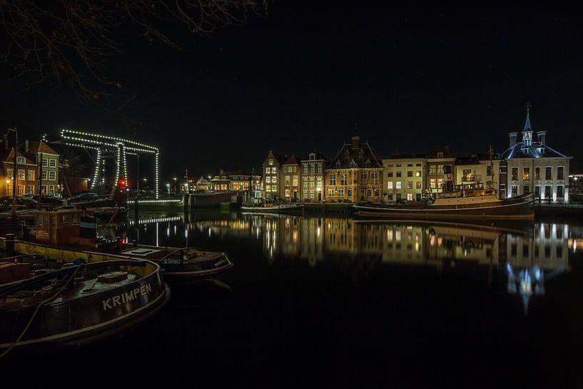 Havengezicht Maassluis  van Marc Smits