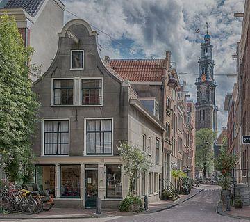Leliedwarsstraat Amsterdam van Peter Bartelings Photography