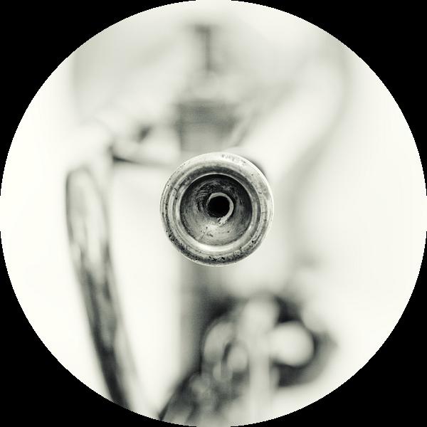 Sentimental Mood.... (muziek, muziekinstrument, trompet) van Bob Daalder