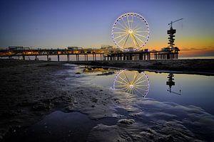 Reuzenrad op de pier van Scheveningen (1) van