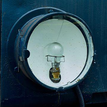 Scheinwerfer des alten Zuges von Jenco van Zalk