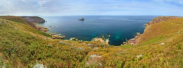Cap Frehel panorama aan de smaragdkust von Dennis van de Water