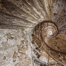 Stair to heaven van Wanda Michielsen
