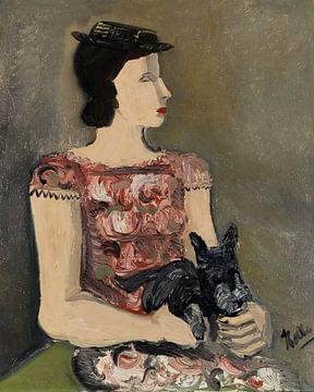 Bildnis eines jungen Mädchens (Madam de Lombré), HELMUT KOLLE, Um 1929