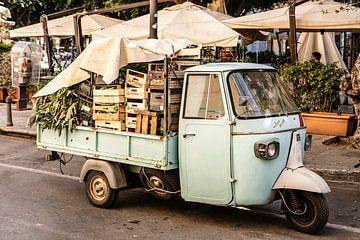 Chariot de légumes à Palerme sur Eric van Nieuwland
