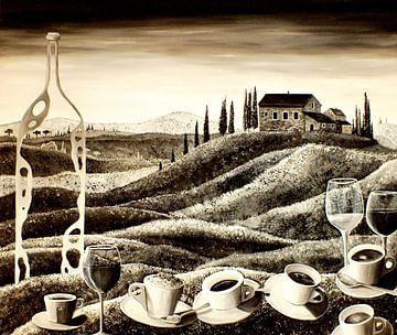 Delizie toscane (sepia) van Thomas Suske