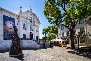Lissaboner Straßenbild von Antwan Janssen