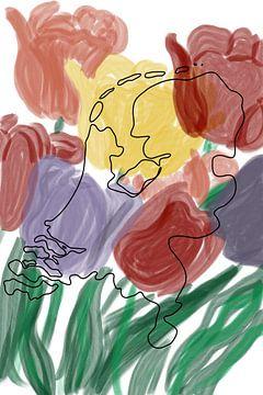 Holland in den Tulpen