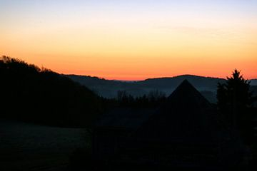 Sonnenaufgang van Ulrich Fuchs