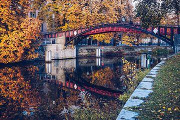 Berlin – Hiroshima Footbridge / Landwehr Canal sur Alexander Voss
