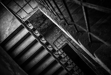 Cage d'escalier sur Gonnie van de Schans