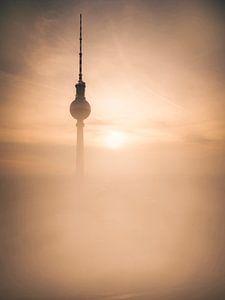 Berlin TV Tower Sunrise
