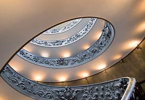 Spiraal trap Vaticaan van
