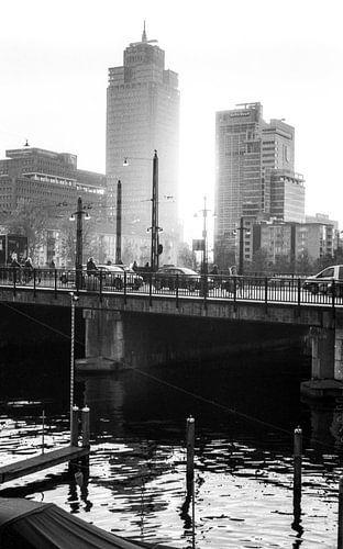 Rembrandttoren Amsterdam (analoge film) van