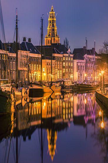 Hoge der A and Lage der A, Groningen, Netherlands van Henk Meijer Photography