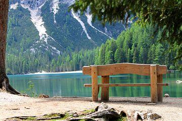 Am Pragser Wildsee von Renate Dohr