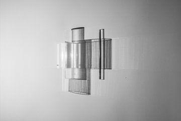 abstracte zwart/wit fotokunst sur Anneloes van Dijk