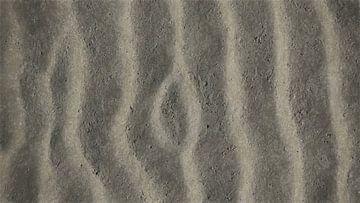 Texturen en Ribbels in het Zand - Schilderij