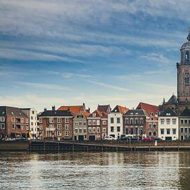 Deventer - IJsselkade (2018) -2 van Rob van der Pijll