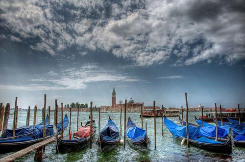 Gondels van Venetie van