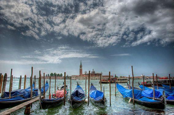 Gondels van Venetie