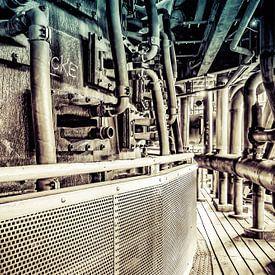 Buizen in verticale symmetrie en vintagelook van Okko Huising - okkofoto