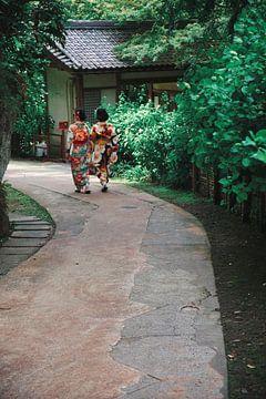 Meisjes in Kimono van Tobias Rühling